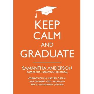 Best Graduation Invitation Templates Images On   Grad