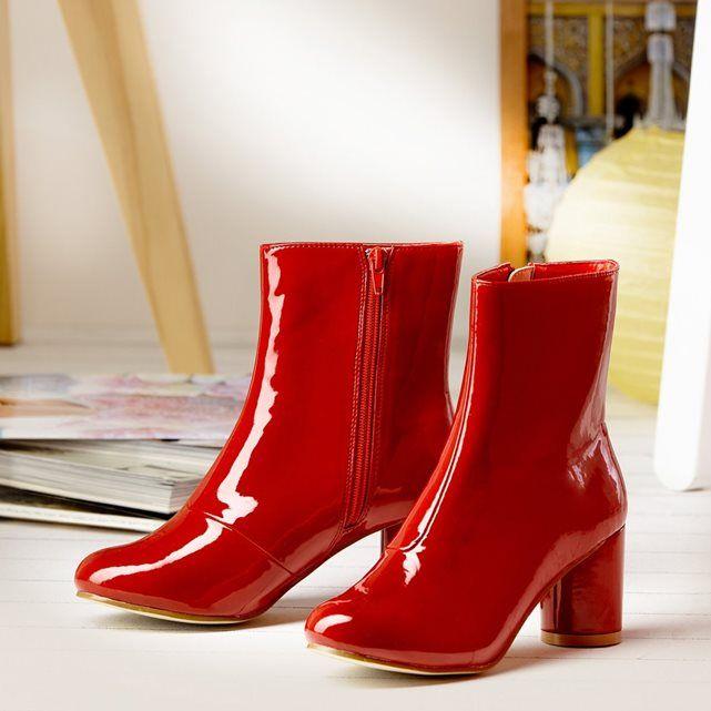 Boots à talon MADEMOISELLE R | La Redoute Mobile