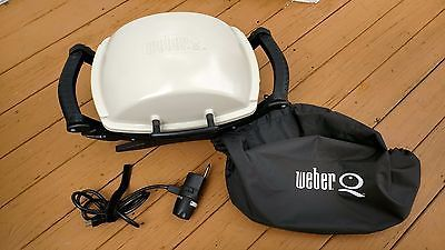 Weber 522001 Q-140 Shirt-pocket 189-Square-Inch Electric Grill Local Pickup Only