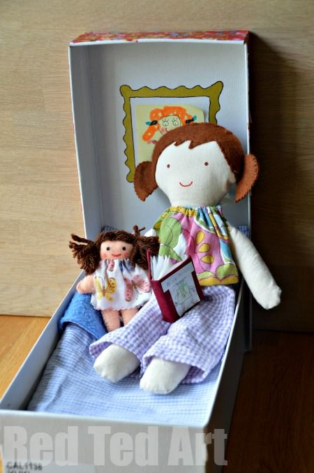 Doll in a Box - Ready For Bed