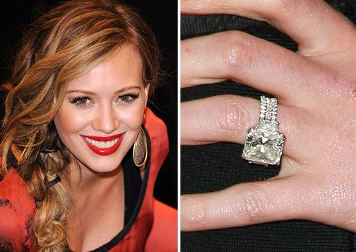 hilary duffs rings - Hilary Duff Wedding Ring