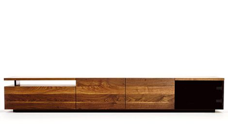 Contemporary Storage Furniture for Media / Clothes in Solid Hardwood, by Izm