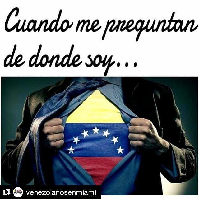 Con el tricolor en el pecho #Repost @venezolanosenmiami ・・・ ❤️