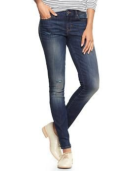 1969 destructed always skinny jeans $69.95 | Gap Spring 2014 { Reordered in MY size when they were restocked. Yeah! Love them!!!  Original order size 8 too big.