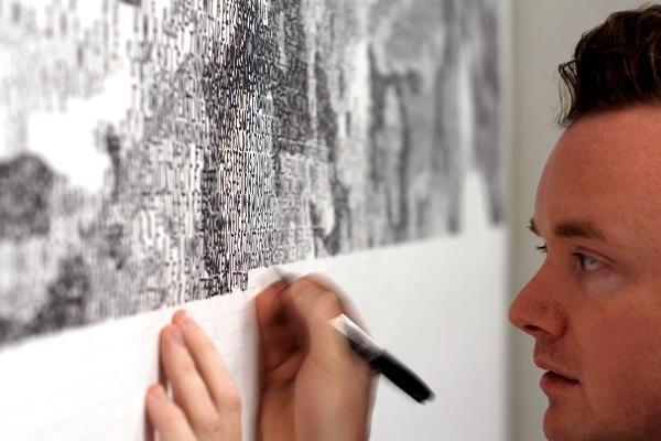 Artist Finds New Ways to Create Art Despite Irreversible Nerve Damage