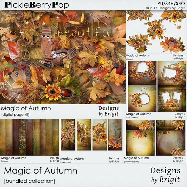 Magic of Autumn bundled collection