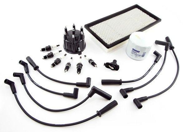 Ignition Tune Up Kit, 4.0L; 97-98 Jeep Cherokee XJ