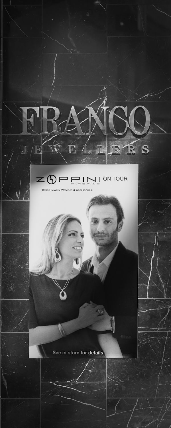Zoppini On Tour @ Franco Jewellers Chadstone Shopping Centre