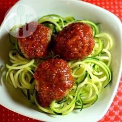 Courgetti spaghetti @ allrecipes.nl