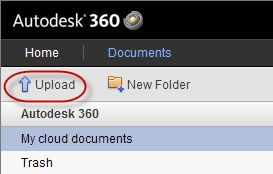 Autodesk 360: CAD on the Cloud