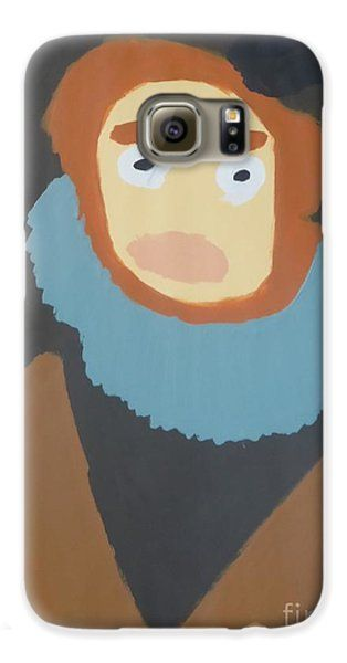 Galaxy S6 Case featuring the painting Portrait Of Maria Anna 2015 - After Diego Velazquez by Patrick Francis