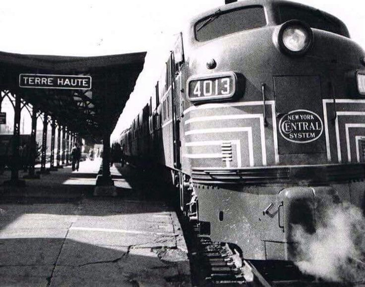 Terre Haute Train Depot.