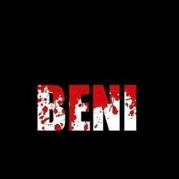 Moi je suis BENI et je dis NON aux massacres de mes semblables.
