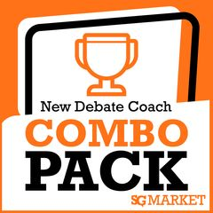 "Are you new to coaching debate? Do you have a brand new team and need some resources and materials? This package is designed to get your debate team ready for their first tournament, with products such as:  Introduction to High School Debate and Logic Textbook from The Forensics Files  Beginning Debate Teacher's Guide by CDE  The ""How-To"" of Debate  Coaching for Success in LD Debate by Paradigm Research  Public Forum Guidelines for Success from The Forensics Files"