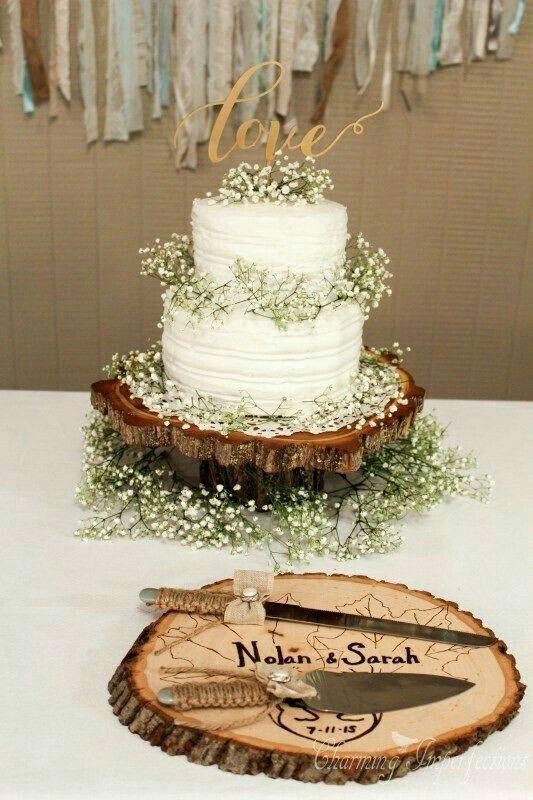 Brides , vcs preferem o bolo fake para o corte simbólico ou o real?? Vejam essas ideias que encontrei no Pinterest