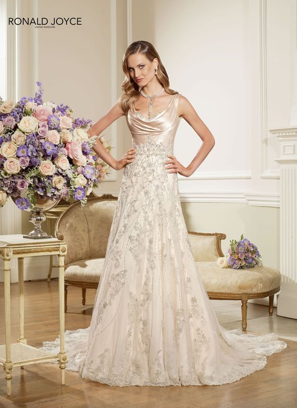 Gallery – The Ronald Joyce 2013 wedding dress collection - one of my favorites
