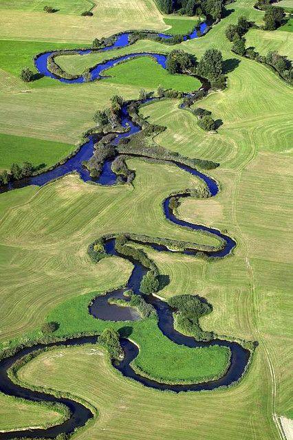 River Vils, Bavaria, Germany by Klaus Leidorf