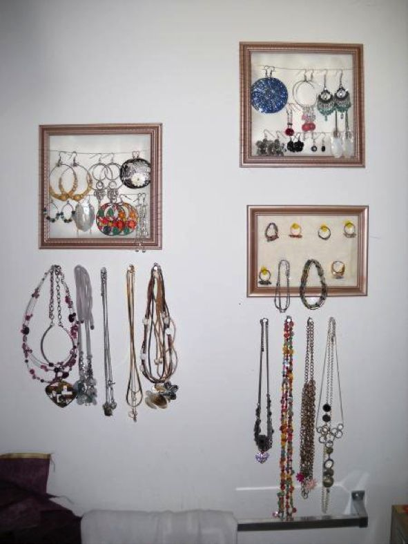 great jewelry organization idea