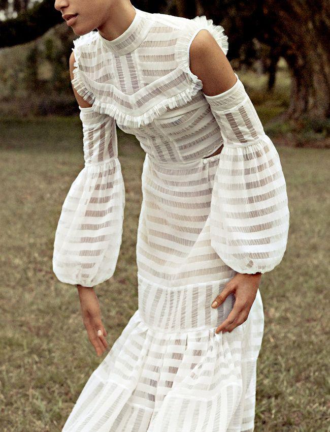 La parfaite robe de mariée #43 (photo Porter Magazine)