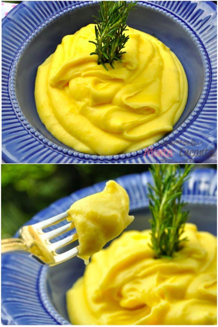 Purê MiX de batata e mandioquinha – Existe acompanhamento melhor que um bom e cremoso purê de batata? Existe Siiiimmm! Purê mix de batata e mandioquinha. O bom e velho purê de batatas, acres…