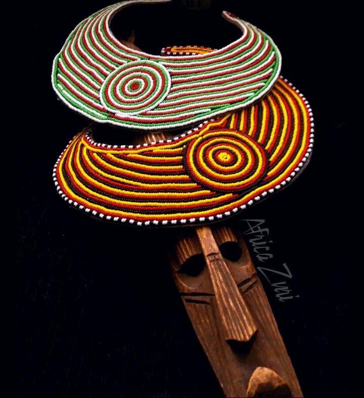 Masai jewelry, Maasai jewelry, statement necklaces by Africa Zuri