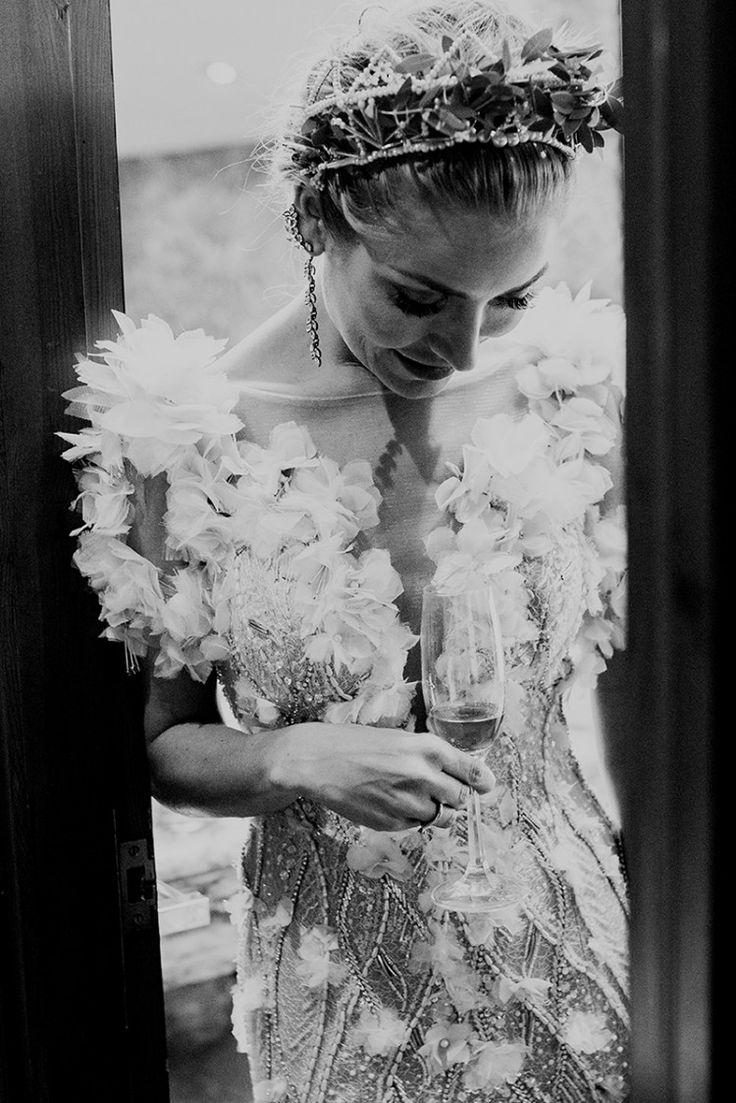 La novia del vestido al más puro estilo Hollywood - Las bodas de Tatín