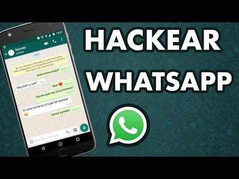 Hackear Whatsapp Solo Con El Numero Sin El Celular De La Otra