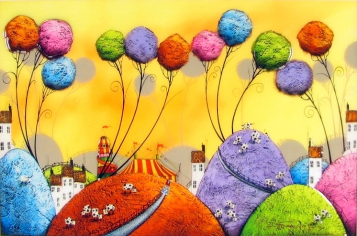 Fun at the Fair by Dale Bowen - From £395.83