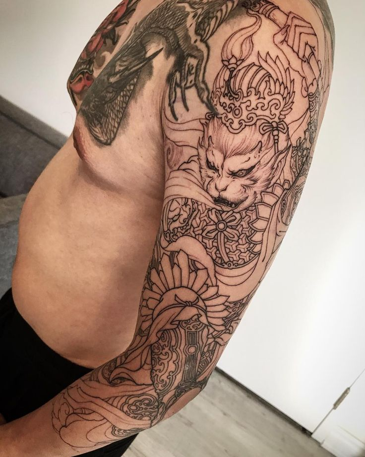 164 best in progress tattoos images on pinterest arm for Ink monkeys tattoo