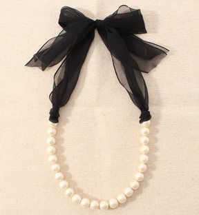 Lovely necklaces: ワームス コットンパール☆ネックレス - shopstyle.co.jp