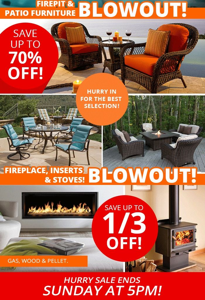 Save Up To 70% Off Fire Pits And Patio Furniture At Richu0027s. Choose From