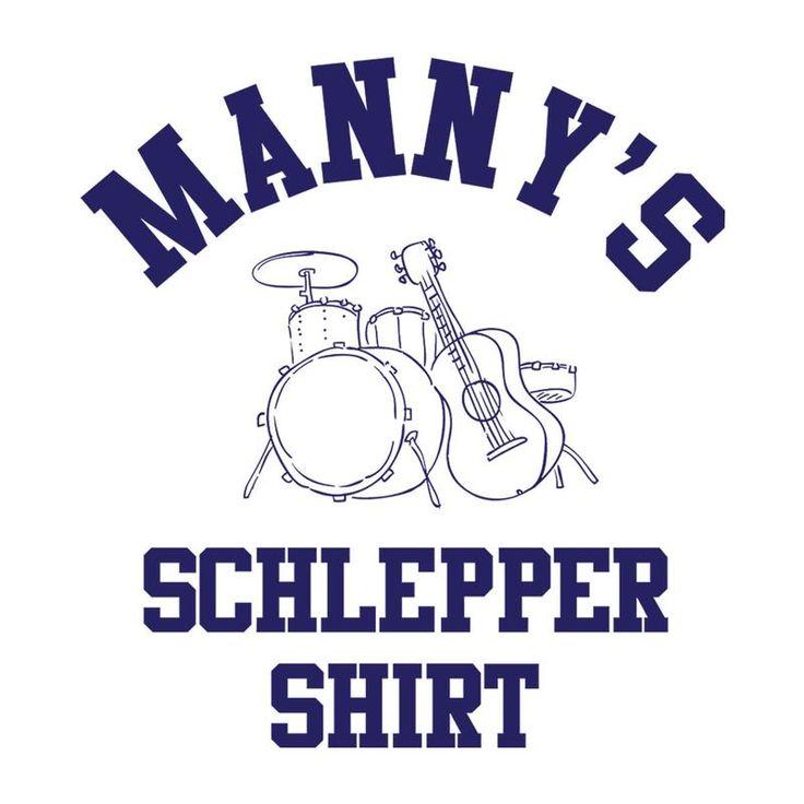 Mannys Music Schlepper Shirt Worn By Mick Ronson Men's T-Shirt
