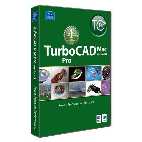 Cute TurboCAD MAC Pro Professional D u D CAD Design software http