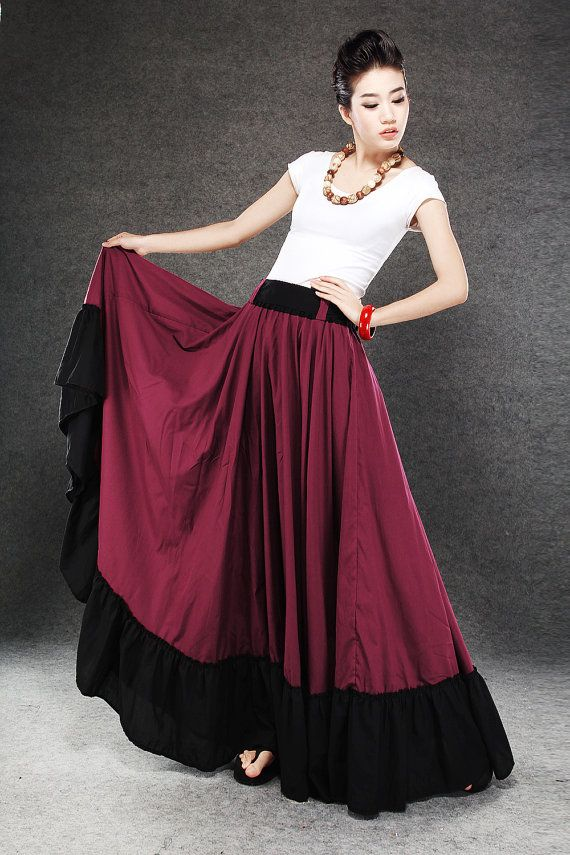 519 best images about Flowy Maxi Skirts on Pinterest | Image ...