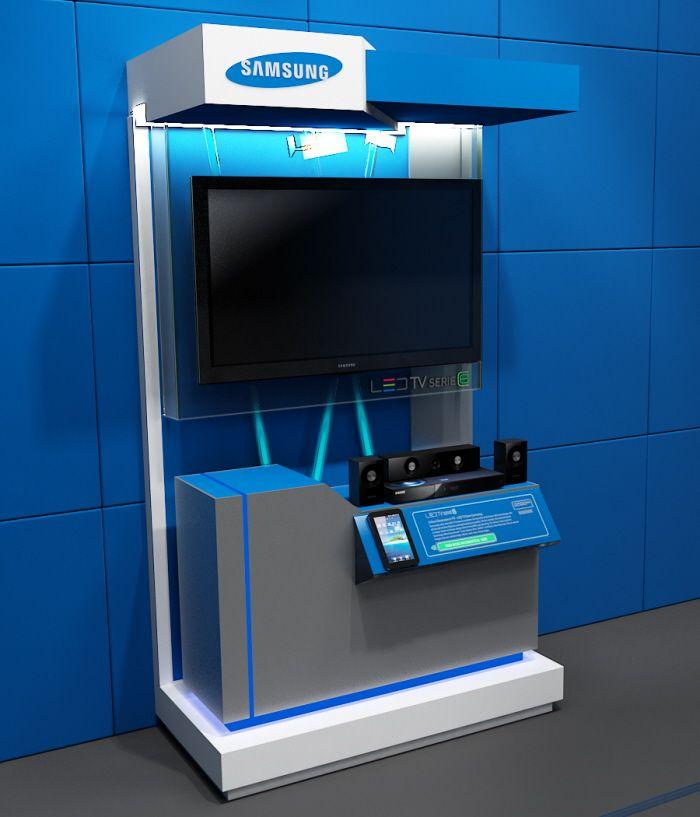SAMSUNG TV LCD EXHIBITION by Sergio Mora at Coroflot.com