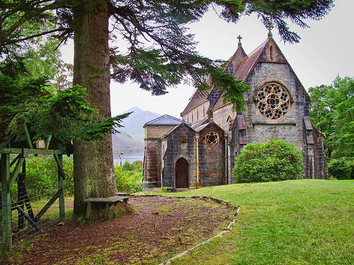 Ancient Church, The Highlands, Scotland - I would love to see this