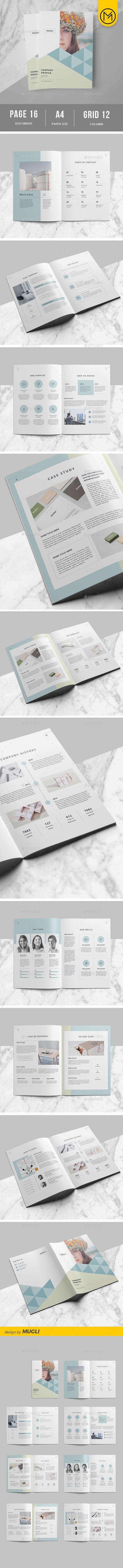 #Company Profile - Corporate #Brochures Download here: https://graphicriver.net/item/company-profile/19420339?ref=alena994