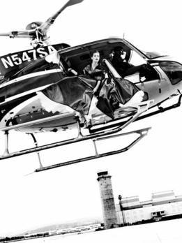 Originale vom Helikopter Shooting