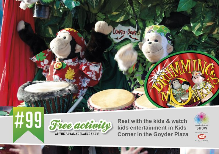 The Amazing Drumming Monkeys are back! #AdelShow
