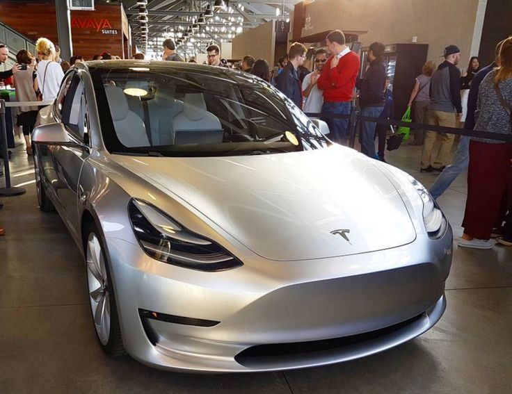 Tesla Model 3 Shown Off At Employee Party (New Images)