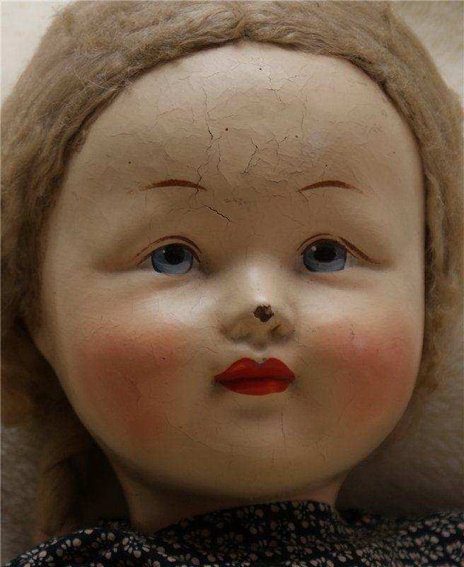 Кукла из СССР 50 см Прессопилки (5498638160) - купить на торговой площадке, интернет-аукционе Молоток.Ру