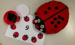 Rekenspellen: Splitsen met een lieveheersbeestje! Met ook nog vele andere rekenspellen!!