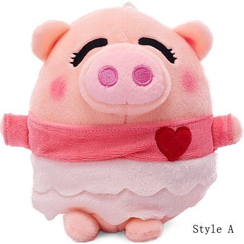 Well-dressed Pig Sisters and Brothers 5 Styles of Plush Pig Toys