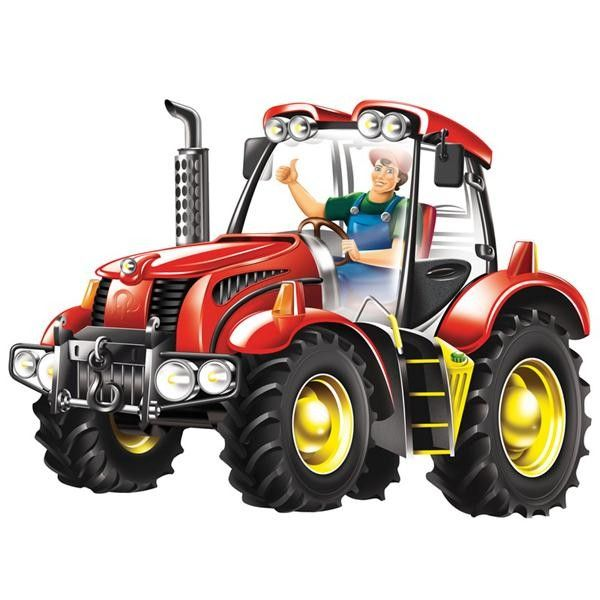 Kids Toys to You | Kids Toys to You Wooden Tractor Floor Puzzle - AndZee Kids Toys to You - $29 at www.kidstoystoyou.com.au
