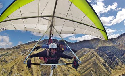 Borne along by nothing other than the wind, you'll see New Zealand's adventure capital from a whole new perspective. Tandem hang gliding or ...