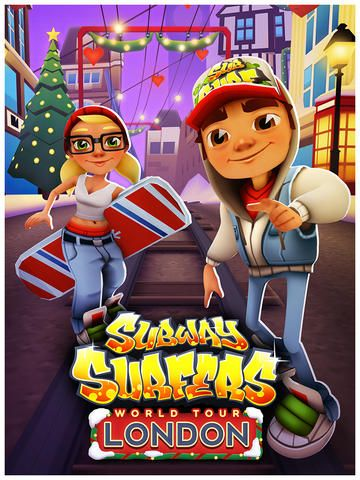 Surf The Snow-Covered City Of London This Holiday Season In Subway Surfers -- AppAdvice