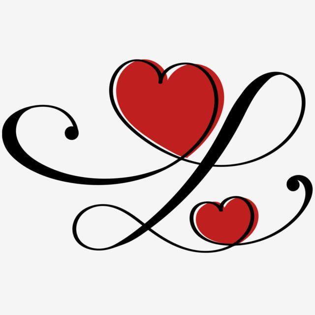 Coeur Amour Infini Avec Ornements Vintage Amour De Coeur Infini Carte De Saint Valentin Png Et Vecteur Pour Telechargement Gratuit Valentines Art Heart Ornament Free Vector Graphics