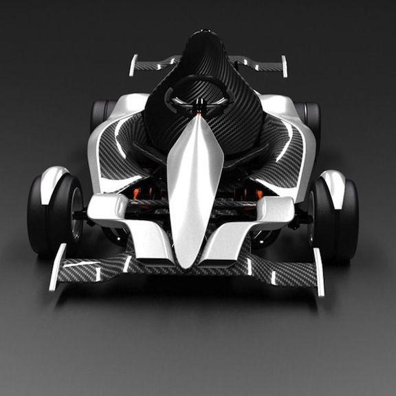 Electric Go-Kart. I want one please.