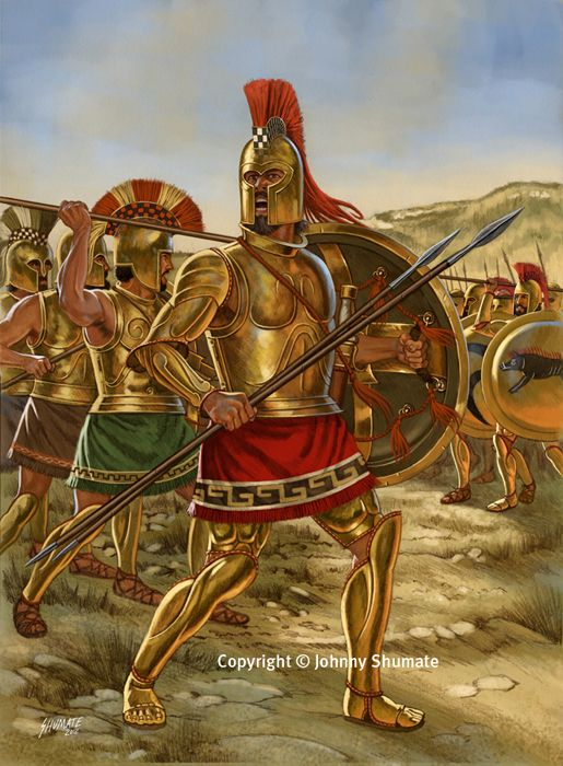 An introduction to the history of ancient greek war heroes