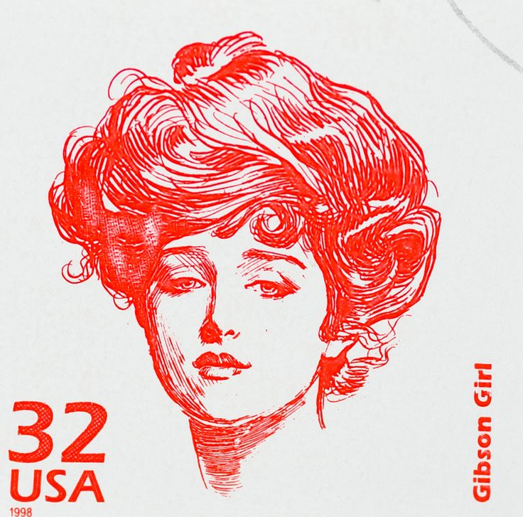 Make Up A History The Victorian Era Gibson Girl Style